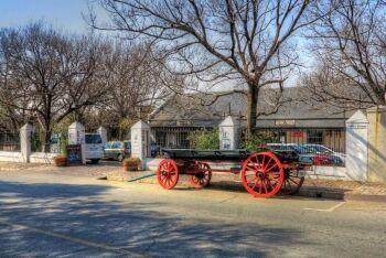 Ox wagon, Heidelberg, Sedibeng
