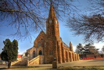Klipkerk (Stone church) in Heidelberg, Sedibeng (Southern Gauteng)