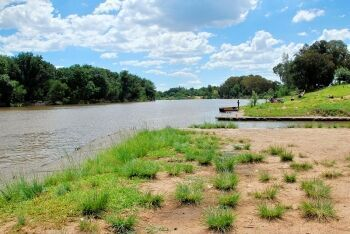 The Vaal River at Three Rivers, Sedibeng (Southern Gauteng)