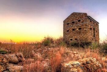 The Witkop Blockhouse, Vereeniging district, Sedibeng (Southern Gauteng)
