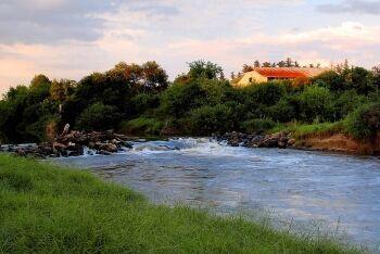 Klip River at Rothdene, Meyerton, Sedibeng (Southern Gauteng)